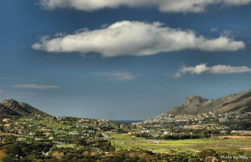 Noordhoek Valley , Cape Town  http://www.capepointroute.co.za/seeit-noordhoek.php