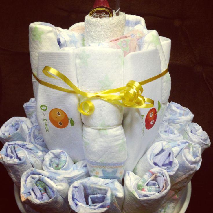 Nappy cake handmade by me