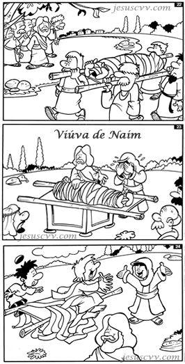 Viúva de Naim Jesus ressuscita seu filho