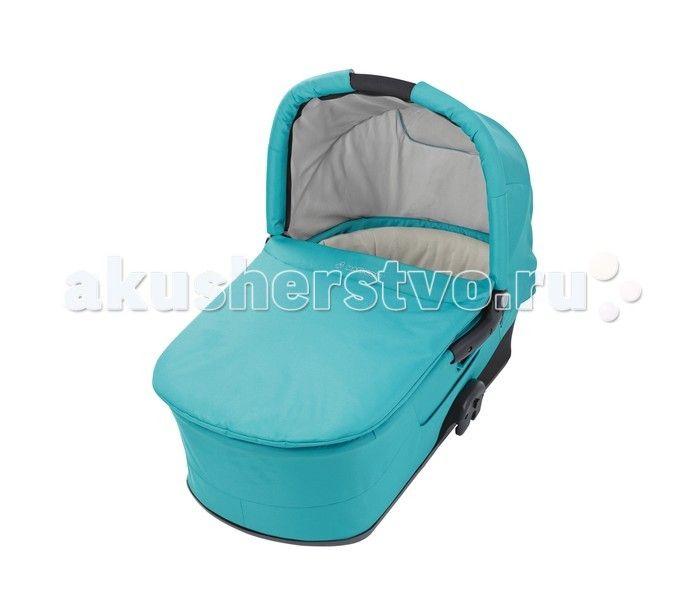 Люлька Maxi-Cosi Mura  Maxi-Cosi Mura Pram body идеальная люлька для младенца в первые месяцы его жизни, в комбинации с колясками Mura 3 и Mura 4 превращается в удобную и компактную прогулочную систему. Maxi-Cosi Mura Pram body можно использовать для детей с весом до 9 кг.  Благодаря удобной ручке, люльку можно брать с собой, куда бы вы ни шли, а благодаря адаптерам, установка Maxi-Cosi Pram body на раму колясок Mura 3 и Mura 4 превращается в пустяковое дело.   Особенности:  удобная ручка…
