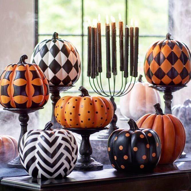 45 Halloween-Kürbis-Deko-Ideen für mehr Spaß