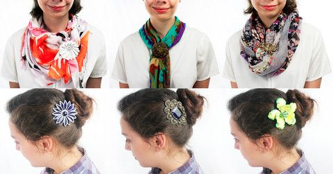 how to wear vintage brooches - Google Search