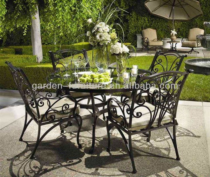 Garden Furniture Vintage best 20+ wrought iron garden furniture ideas on pinterest