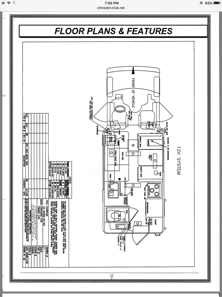 Chinook Rv Wiring Diagram : Chinook rv wiring diagram furnace