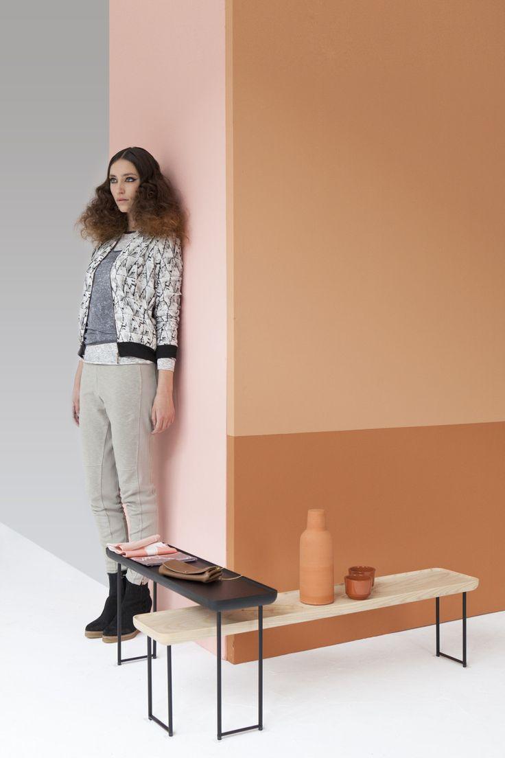 Verwarm je interieur met de kleuren van de ondergaande zon volgens de trend Brick House van Perscentrum Wonen.