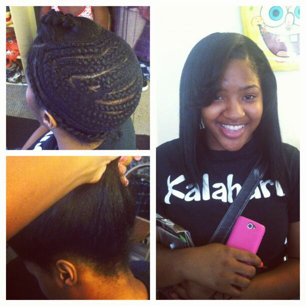 36 Best Images About Braid Patterns On Pinterest Back Braid U Part And Sew In Braids