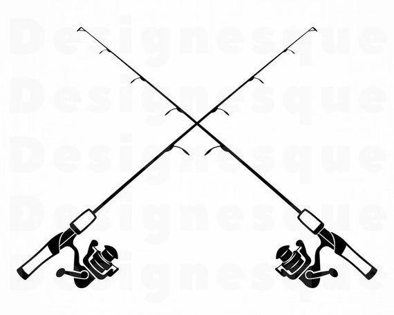 Fishing Rod Logo Svg Fishing Rod Svg Fishing Svg Fishing Etsy In 2021 Fishing Svg Fish Clipart Fishing Rod