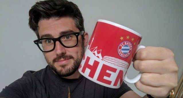 "An English football fan has been sent a new mug by Bundesliga champions Bayern Munich after he tweeted about ""retiring"" his old one"