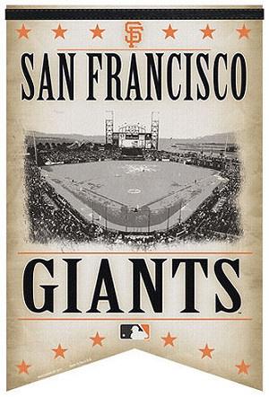 San Francisco Giants Stadium Banner