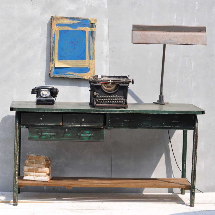 1940's Military Stores Desk from Homebarn Vintage Store in Marlow UK