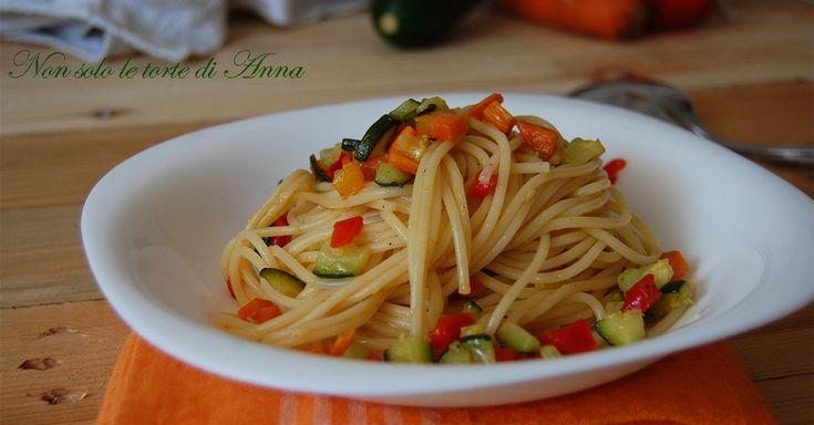 Ricetta+spaghetti+con+verdure+estive
