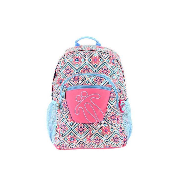 Mochila modelo 7bi de la marca totto adaptable, una mochila escolar de gran calidad, Tottto es uno de los mejores fabricantes de mochilas del mercado