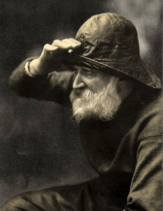 The Old Fisherman by Paul Crompton: