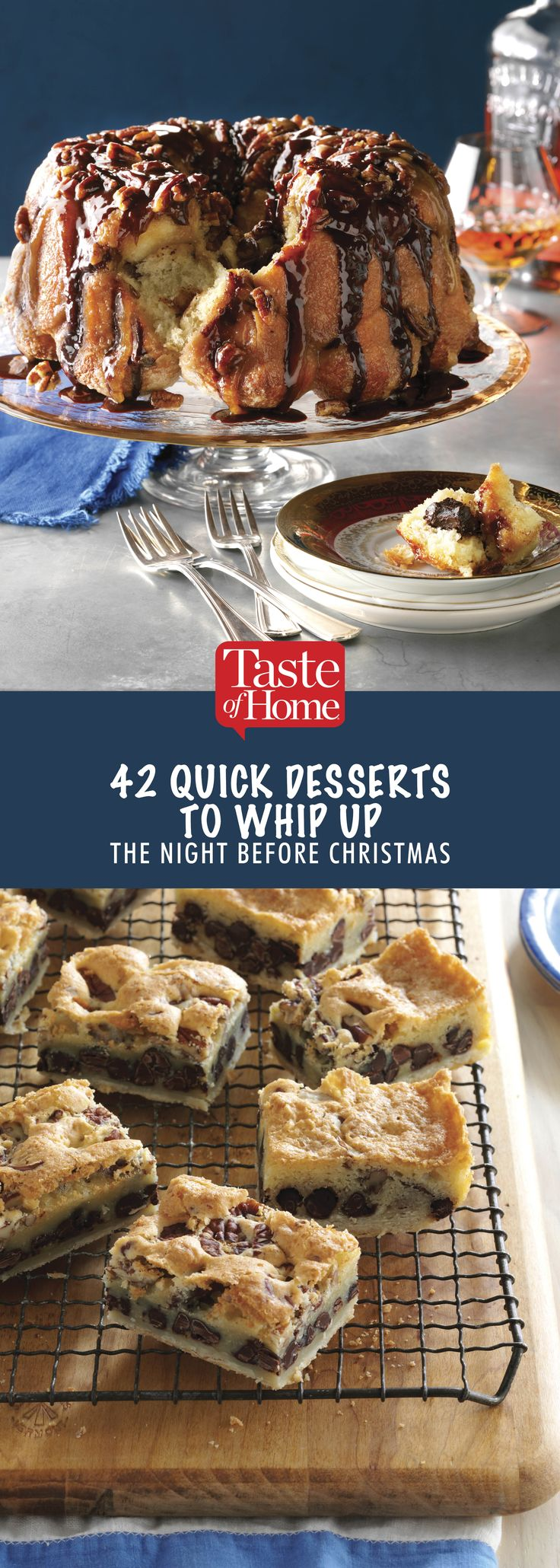 42 Quick Desserts to Whip Up the Night Before Christmas