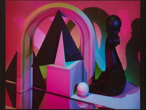 "Barbara Kasten, ""Construct NYC"" 1984"