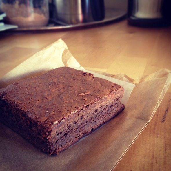 Mexican Hot Chocolate Brownie (gluten free) @ East Village Bakery ...