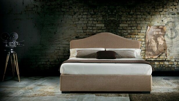 A bed with a romantic taste, Samoais available with either a fixed slatted bedstead or with two storage variations. Milano Bedding http://www.milanobedding.it/