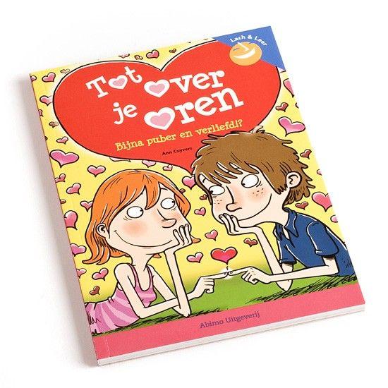 Tot over je oren - Dit boek is handig wanneer je kind zelf verliefd is of gewoon wil weten waarom broer of zus, vrienden of ouders plotseling zo gek lijken te doen.