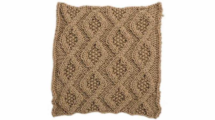 18 besten Cabled Afghan Knit Along on Creativebug Bilder auf ...