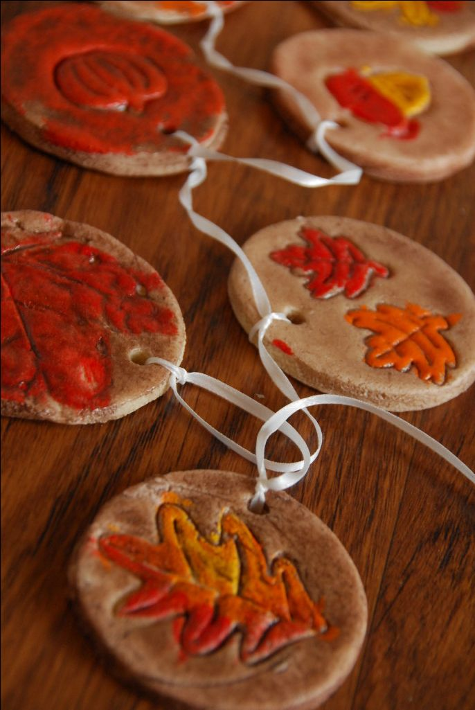 harvest craft ideas for children fall salt dough ornaments thanksgiving salt dough and 6697