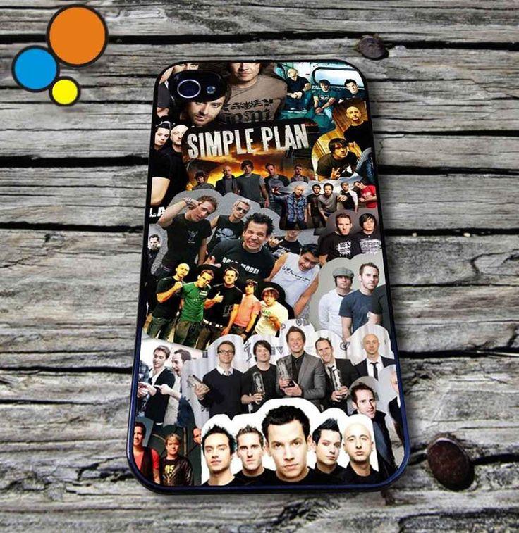 Simple Plan Collage Case iPhone 4 5 6 6s 6plus 6s plus 5 SOS iPhone Case  #iPhone #case #cover #5sos #1D #ash #hemming #irwin #gift #samsung #vintage #magcon #horan #fob #arctic #monkeys #aztec #samsung #HTC #iPod