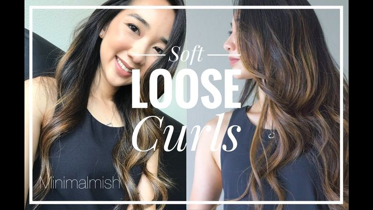 how to create soft curls at home