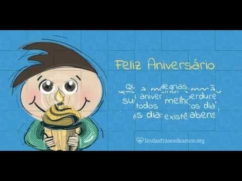 Feliz Aniversario - Menino Castanho