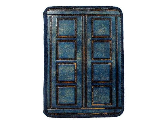 River Song's Diary Doctor Who Kindle Leather Cover by joevleather