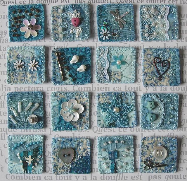 Crazy quilt inches
