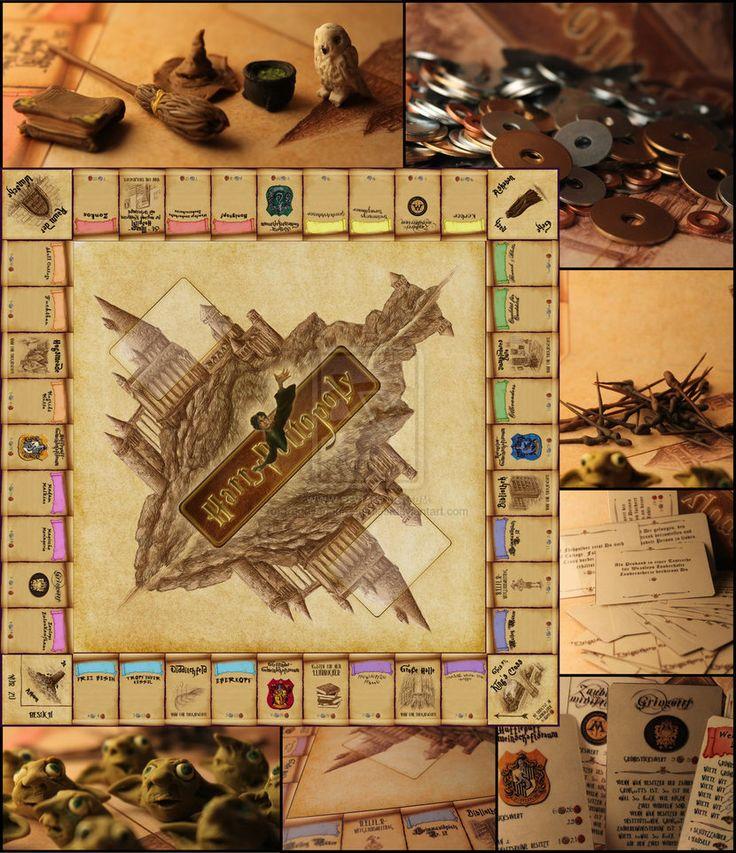 109 besten harry potter monopoly bilder auf pinterest - Harry potter basteln ...