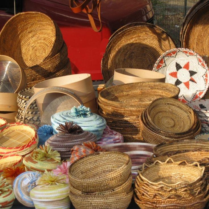 Sardinia - handmade baskets