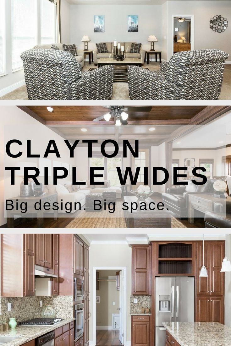 21 best Triple Wide Floor Plans images on Pinterest | Modular homes Clayton Homes Quot Wide Design on