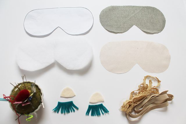 How to Make Your Own Sleep Mask   eHow