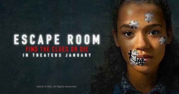 Film Review Escape Room 2019 Escape Room Online Blonde In Front Escape Room