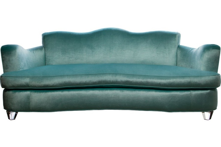 February's Most Wanted,  LOVE this high glamour sofa by Phyllis Mirris