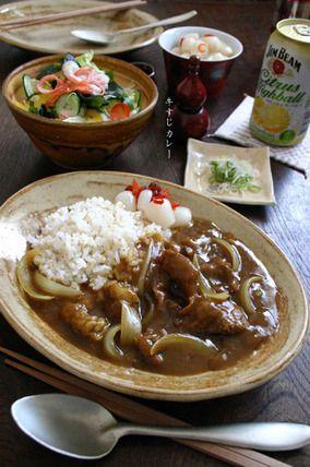和【牛すじカレー】|レシピブログ
