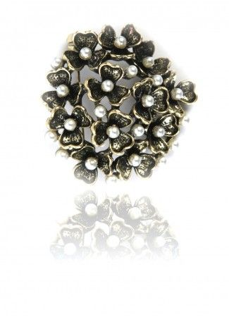 Floral Broach (Brooch), Buy Floral Bouquet Broach Online in India