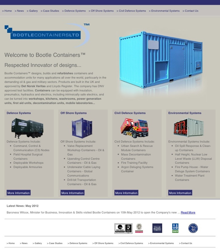 Bootle Containers