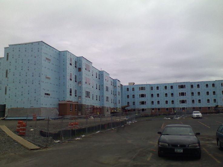 Work continues on the Student Village, SUNY Broome Community College's first residence halls, slated to open for the fall semester.