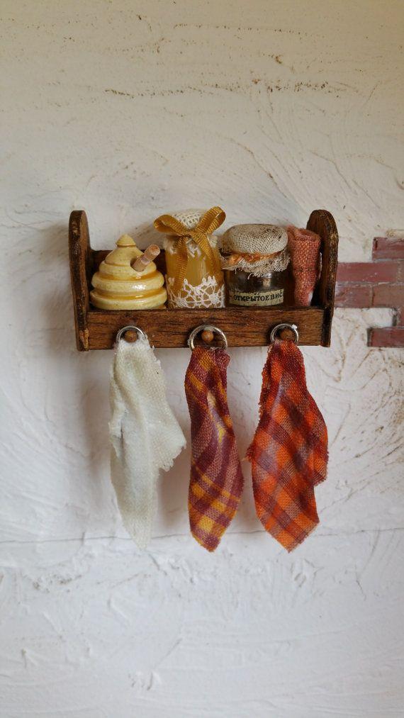 Miniature+kitchen+rack+by+minikukadesgemmasuch+on+Etsy