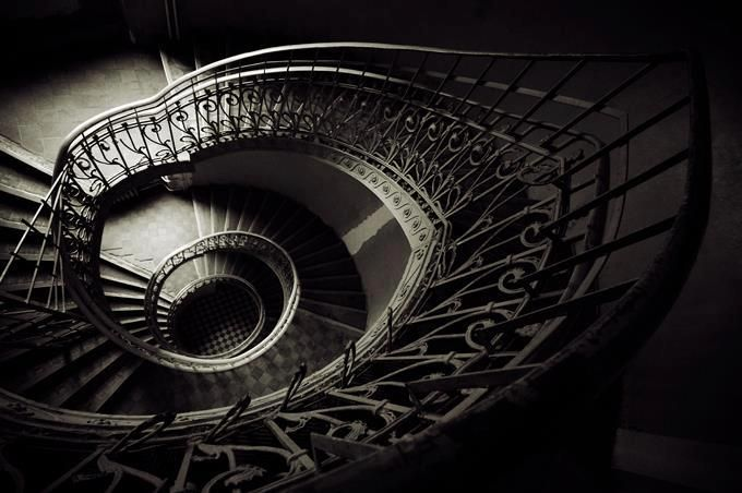 Amazing staircase, Praga, Warsaw, Poland  Photo: Krzysztof Kucharczyk Fotografie