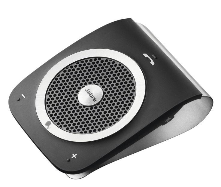 Jabra TOUR Bluetooth In-Car Speakerphone - Retail Packaging - Black