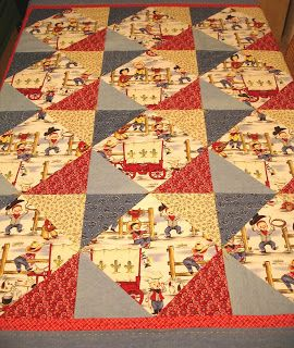 Cowboy Quilt-like the pattern & already have the fabrics!