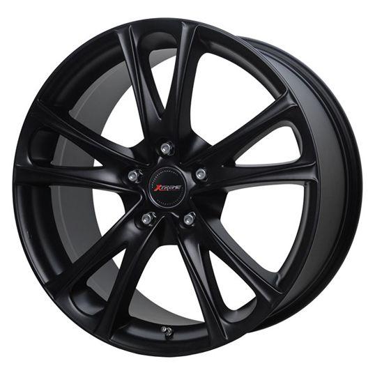 18 XTREME X95 MATT BLACK alloy wheels for 5 studs wheel fitment in 8.5x18 rim size