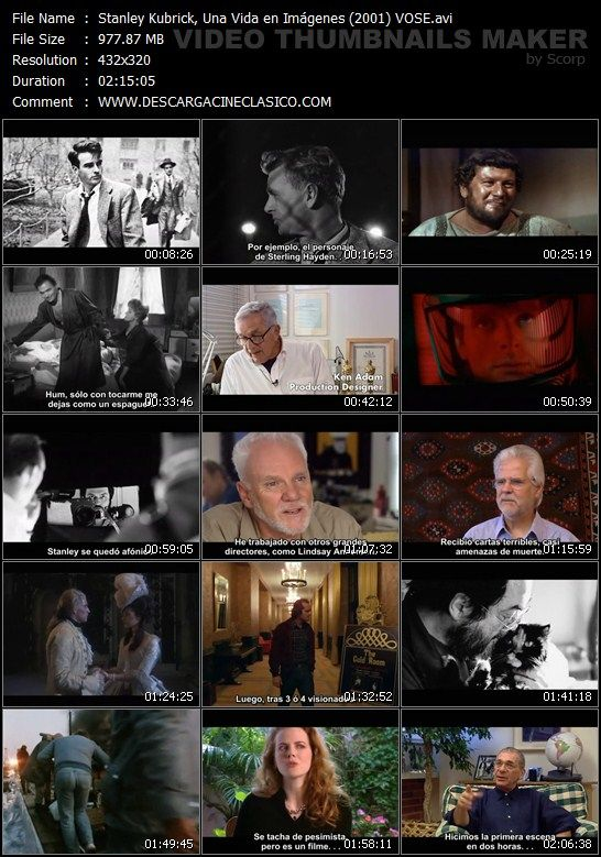 Documental: Stanley Kubrick, Una Vida en Imágenes (2001)
