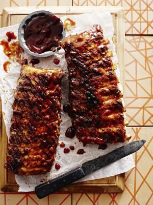 how to cook pork ribs on gas bbq