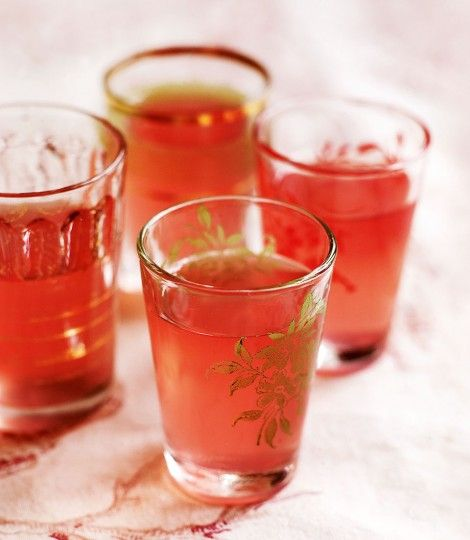 Rhubarb-vodka