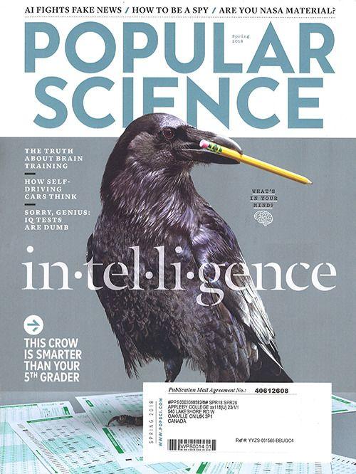 Popular Science Spring 2018
