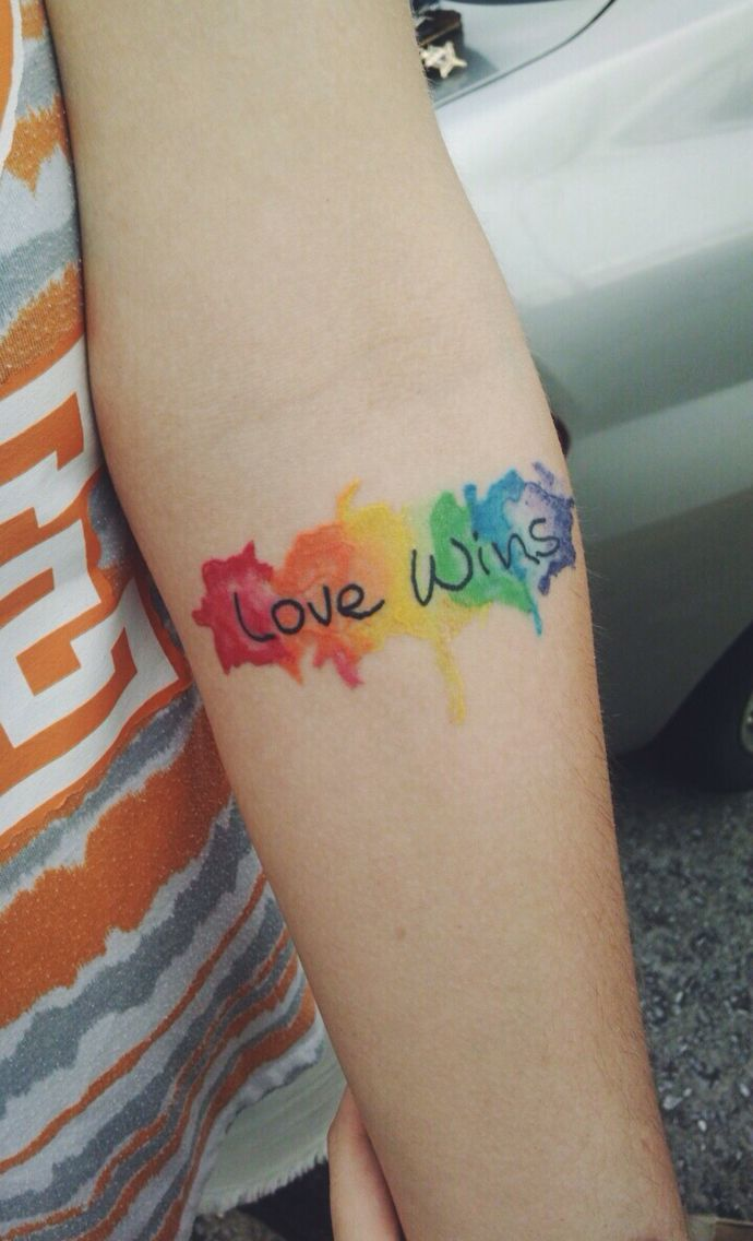 Gay Pride Tattoos 34