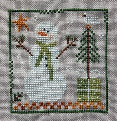 Southpaw Stitcher - Frosty Flakes Little House